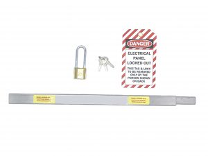 Stainless Steel panel lockout