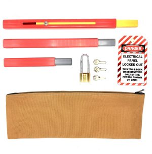 Panel Lockout set with pouch