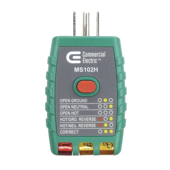 GFCI outlet tester