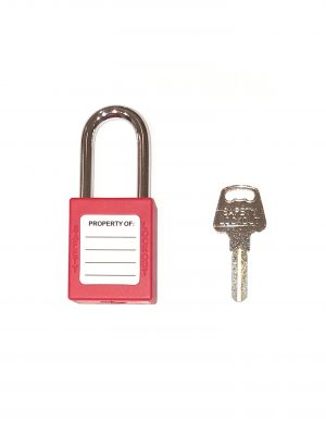 red lockout lock back