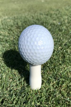 golf ball on Lollipop Tee